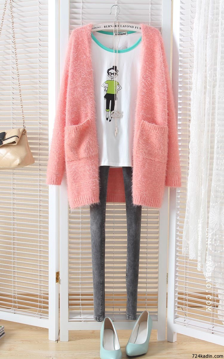 Autumn-and-winter-cardigans-women-new-fresh-candy-color-font-b-mohair-b-font-loose-women