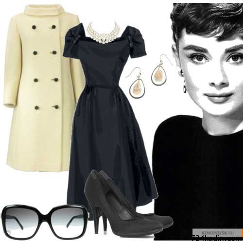 Audrey Hepburn Chic Style With An Elegann