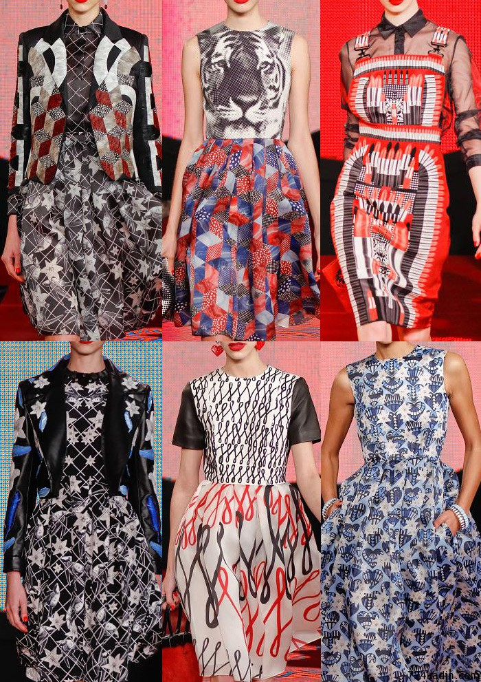 Holly_fulton_London_Autumn_Winter_2013_print_trends