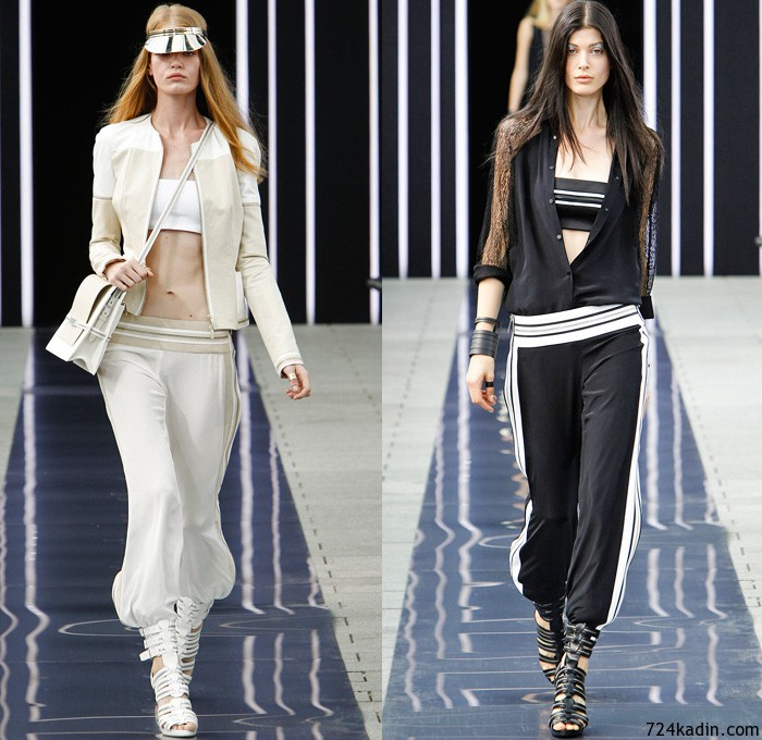 maxime-simoens-2014-spring-summer-womens-runway-paris-fashion-week-show-france-biker-jeans-zippers-sweatpants-sheer-off-shoulder-fringes-leather-colorblock-03x