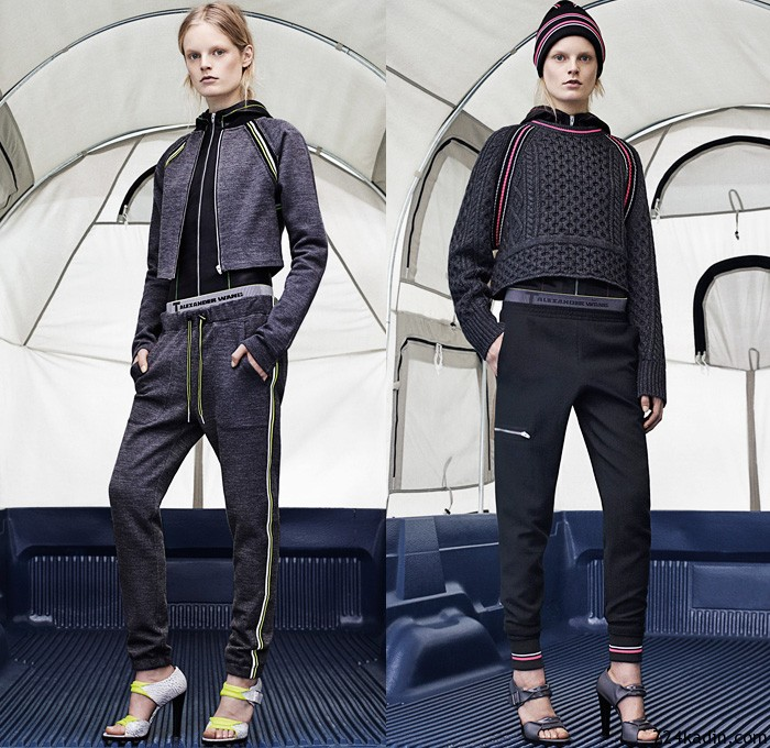 t-by-alexander-wang-2014-2015-fall-autumn-winter-womens-new-york-fashion-week-jogging-sweatpants-puffer-jacket-waffle-quilted-coat-skirt-over-leggings-03x