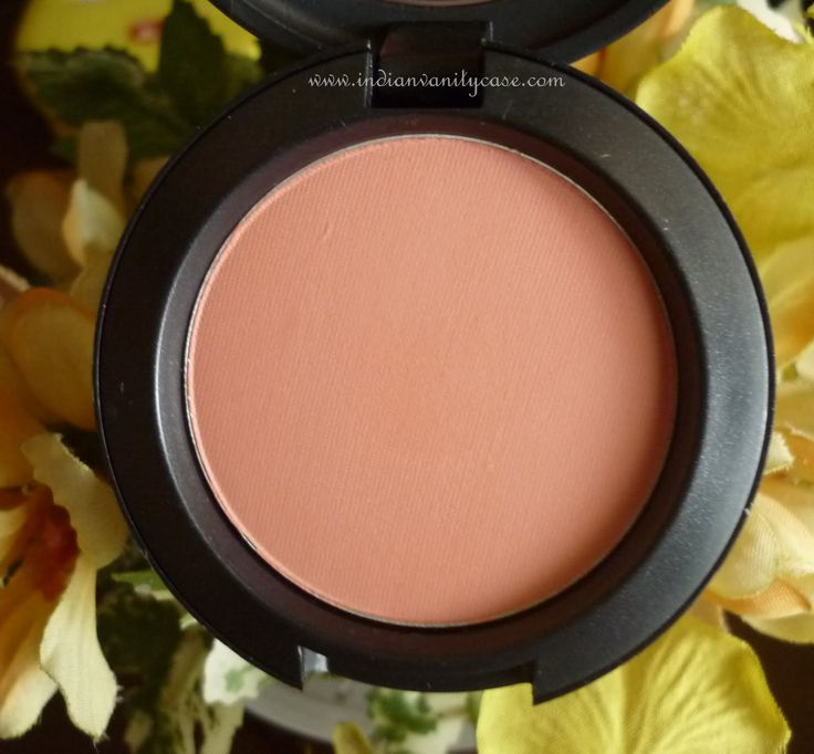 MAC orange-pink satin allık